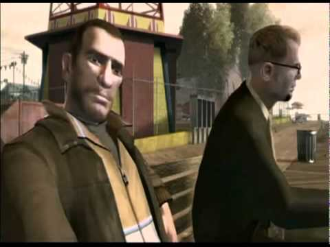 Grand Theft Auto 4: Niko's burn notice
