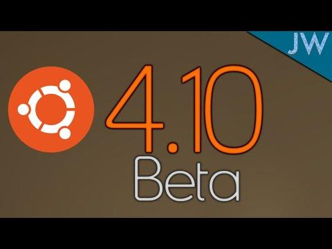 Ubuntu 4.10 Beta (2004) Install And Overview
