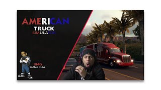 "NEVER DRIVING TRUCKS! ""AMERICAN TRUCK SIMULATOR"" ARE ""SIMULATOR"" GAMES TAKING OVER? PC ""GAME PLAY"""