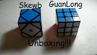 moyu skewb and yj guanlong unboxing cubezz com