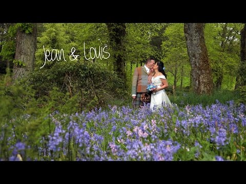 Harburn House wedding video - Jean & Louis