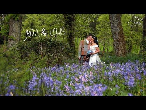 Harburn House wedding video - Jean & Louis