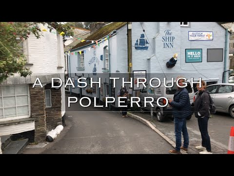 A Quick Dash Through Polperro A Small Fishing Village In Cornwall
