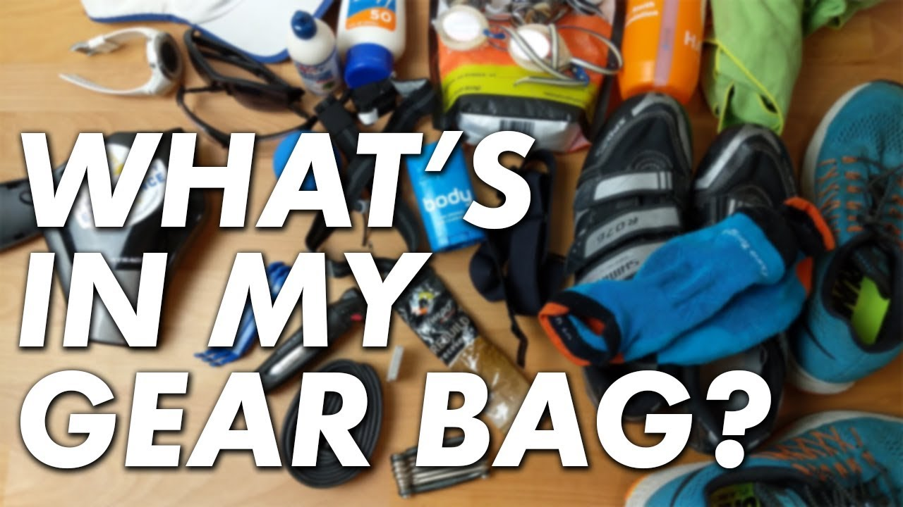 MY TRIATHLON GEAR BAG | Everything I take to transition (And how) in 2018