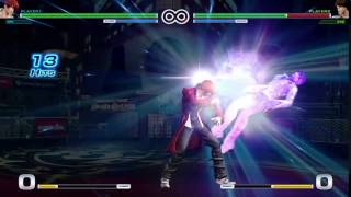 The King of Fighters XIV Combos - Iori (1/14)