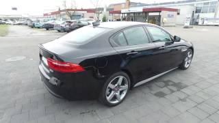 JAGUAR XE 20d R-Sport AWD schwarz