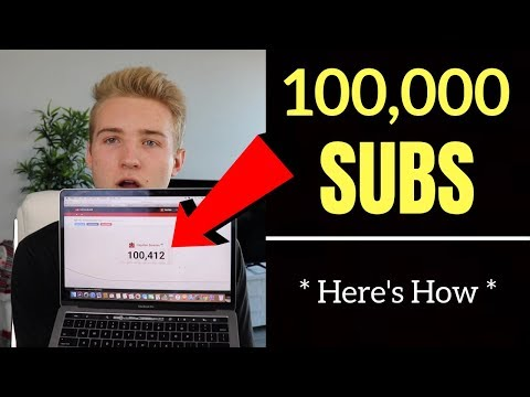 How I Got 100,000 SUBSCRIBERS On YouTube At 18 (Never Shared This)