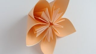 Repeat youtube video Origami Kusudama Flower