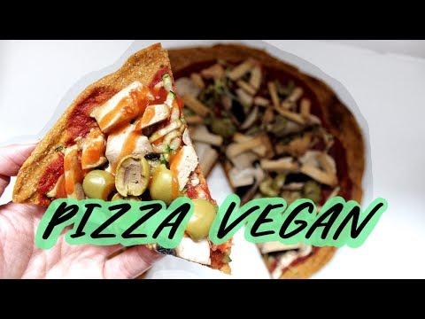 pizza-vegan-super-healthy-&-délicieuse