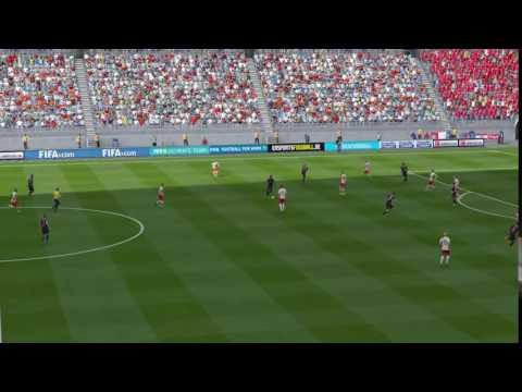 Amazing goal from Pogba FIFA 16
