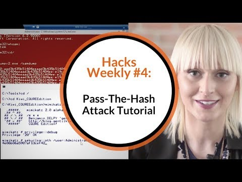 Pass-The-Hash Attack Tutorial | CQURE Academy