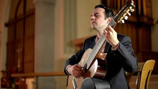 J.S. Bach on 8-string guitar. Adagio and Fuga BWV 1003