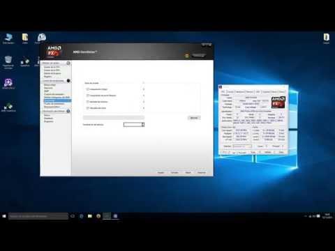 overclock cpu AMD overdrive
