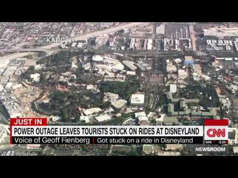 Power outage at Disney leaves tourists stuck