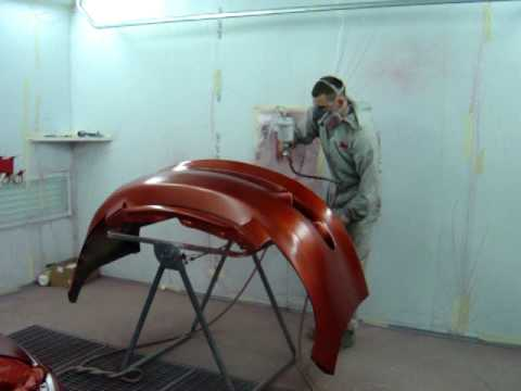 Andy's Crash Repairs - Spray Painting 01