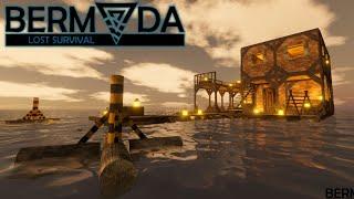 Ocean Survival Day One | Bermuda Lost Survival | Survival Gameplay | E01