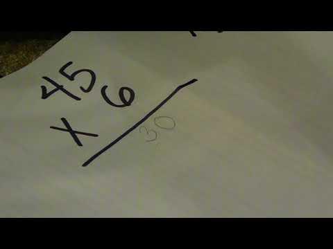 Traditional Multiplication Algorithm | Mrs. Price