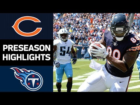 Bears vs. Titans | NFL Preseason Week 3 Game Highlights
