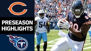 Bears vs. Titans | NFL Preseason Week 3 Game Highlights