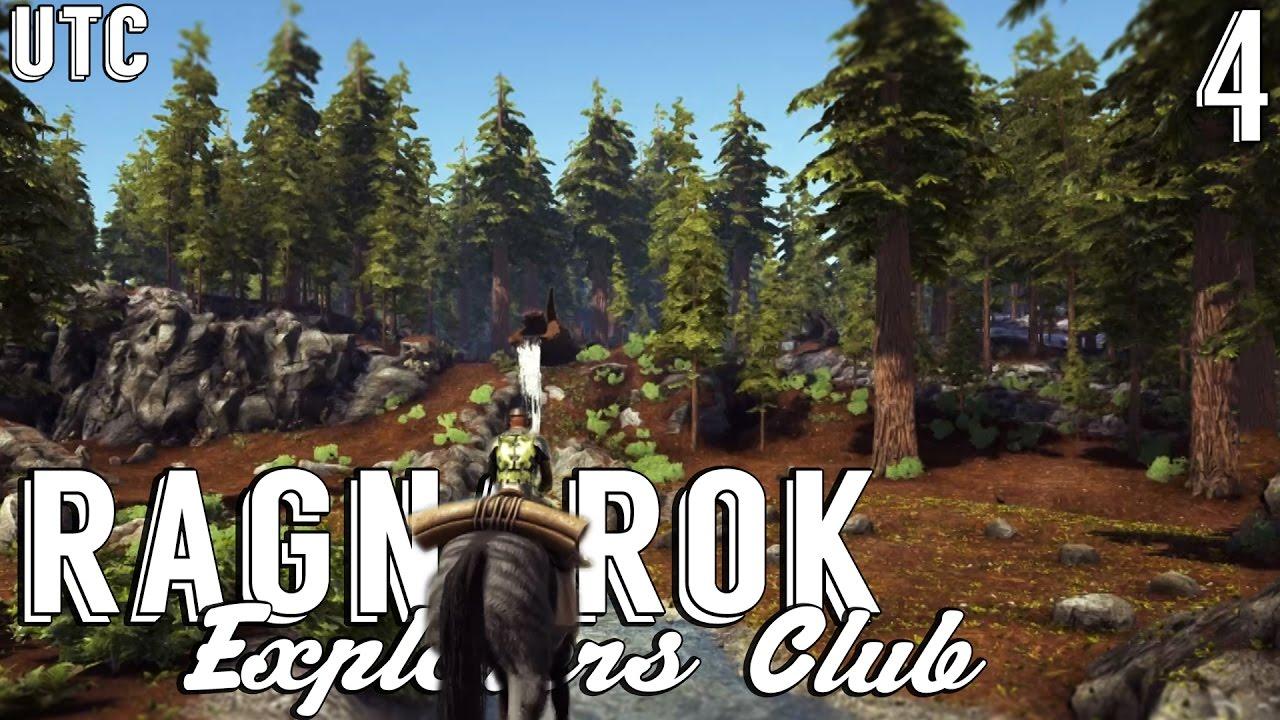 Ragnarok Explorers Club Ep. 4 :: Redwoods :: Exploring The Redwood Forest  :: Ragnarok Map :: UTC