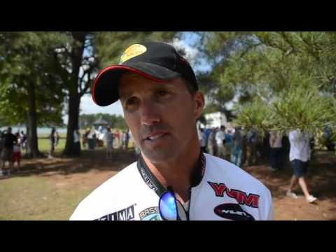 Leader Edwin Evers talks Day 2 Bassmaster Elite Pride of Georgia