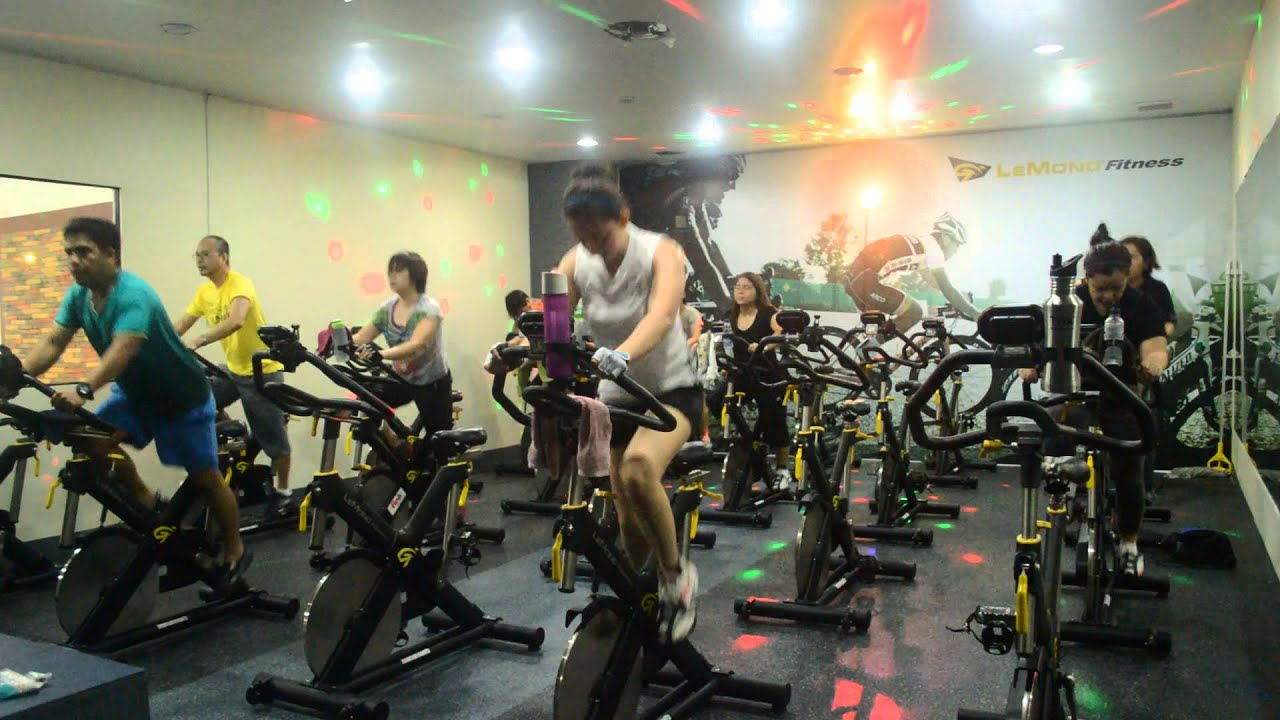 Spinning Class @ Pure Performance Gym, Sta. Rosa, Laguna ...
