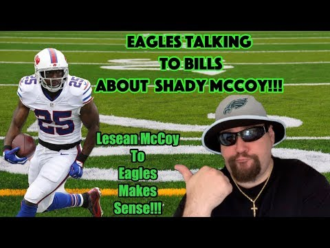 Eagles Contacted Bills About Trading For Lesean McCoy!!! Another Trade Rumor!!! This One Can Happen!