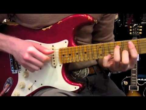 Fender Custom Shop 56 Heavy Relic Strat Candy Apple Red
