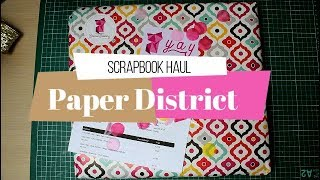 Compras haul de Scrapbook | Paper District shop