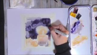 Мини-урок по иллюстрации акварелью от Софии Родионовой (Teacher's Challenge)