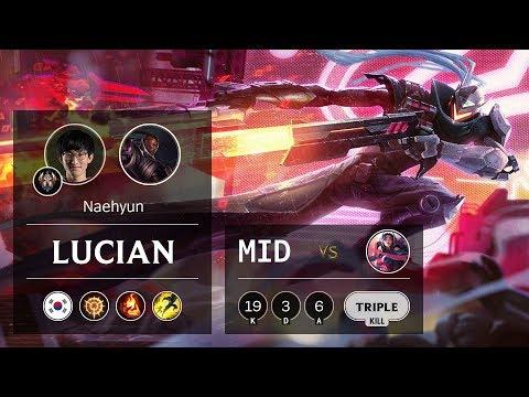 Lucian Mid vs