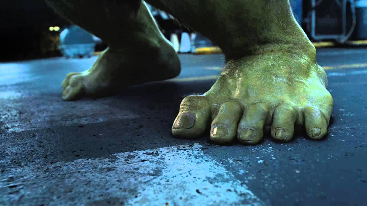 Hulk Foot 3 - YouTube