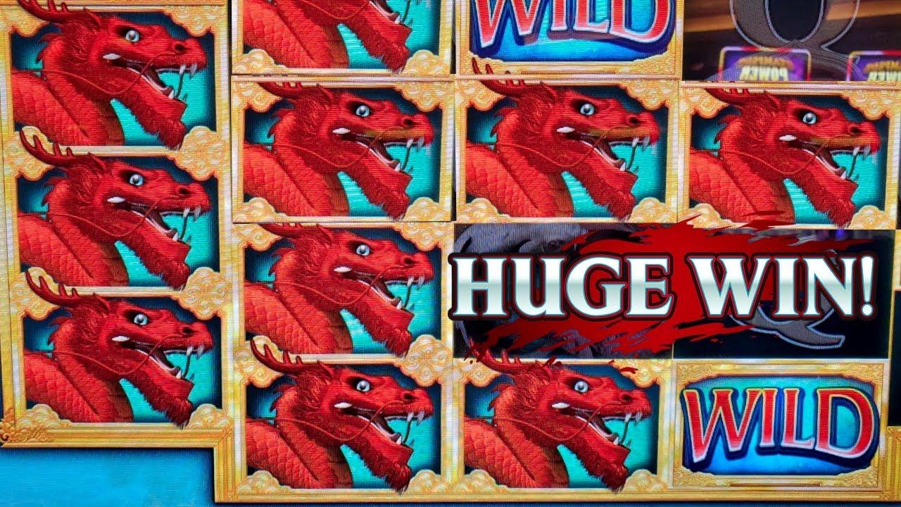 Super Big Win With FREE PLAY On River Dragons Slot Machine - Fortune Coin Slot Machine Max Bet Bonus