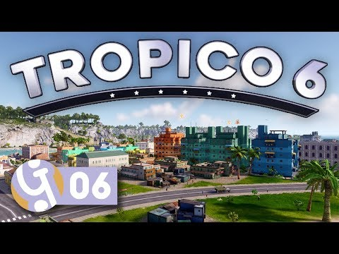 🌴 Housing For Everyone! | Let's Play Tropico 6 Sandbox Ep. 06