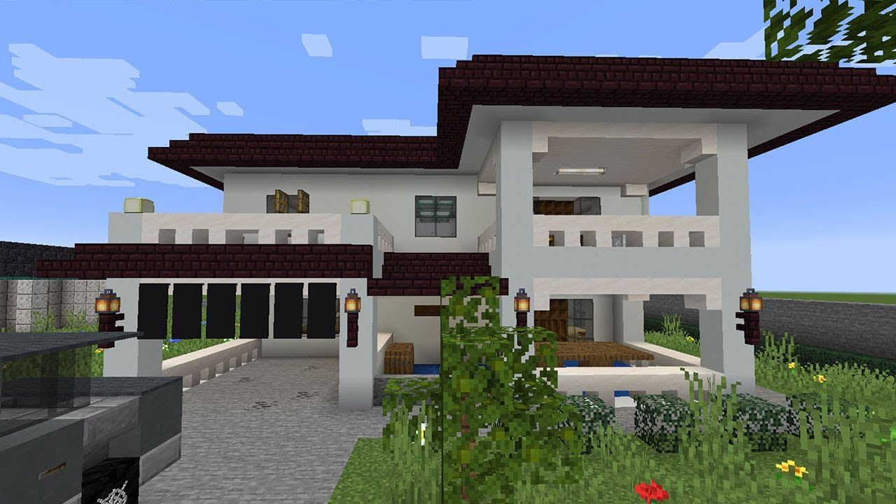 ถ้าบ้านที่ผมอยู่ในชีวิตจริงไปอยู่ในเกม Minecraft