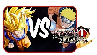 Goku Vs Naruto! | Super Smash Flash 2