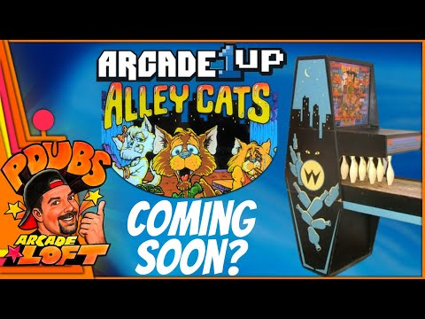 Will Arcade1Up Release Williams Alley Cats Shuffle Bowling?!?! Big Leak by TNT Amusements! from PDubs Arcade Loft