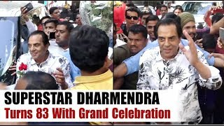"""""""Dharmendra"""" Celebrates His 83rd Birthday With Fans 