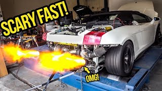 Download My Cheap Lamborghini GOES INSANE On The Dyno And Gets SCARY FAST! Mp3 and Videos