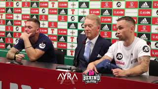 CARL FRAMPTON FULL POST-FIGHT PRESS CONFERENCE AFTER DEFEATING LUKE JACKSON
