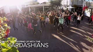 KUWTK | Kourtney & Khloé Kardashian Surprise Kim With a Flash Mob | E!