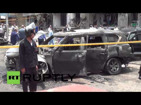 Egypt: Prosecutor General Hisham Barakat 'killed' in explosion in Cairo
