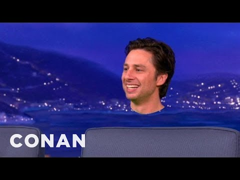 Zach Braff s Off How He Got Monkiefied For