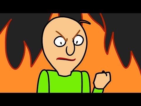 BALDIS BASICS VS SUPER MARIO & PACMAN & SONIC (Official series) Baldi Animation Horror Game