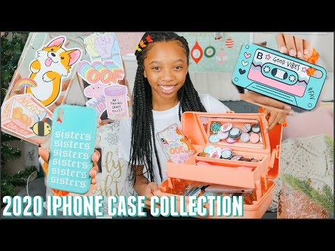 IPHONE XR CASE COLLECTION 2020 | IPhone Case Collection Part 2! Just Jordyn
