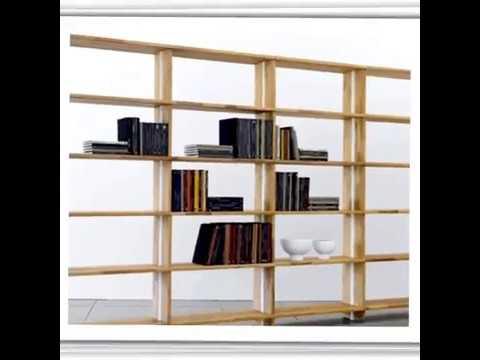 Nikka Woody modular bookcase : real wood really modular