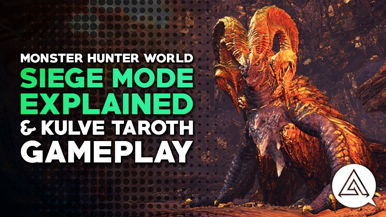 Monster Hunter World Kulve Taroth Siege Guide: tips for battle, loot