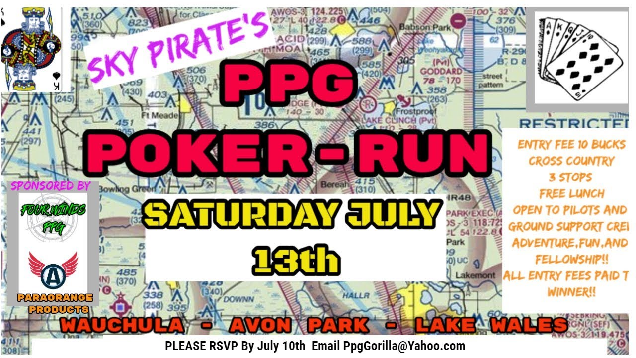 40 Pilots Cross Country PPG Poker Run
