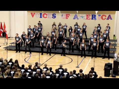 Elkhorn Valley View Middle School 2012 Fall Choir Concert - 7-8 Voltage Show Choir - Seize The Day
