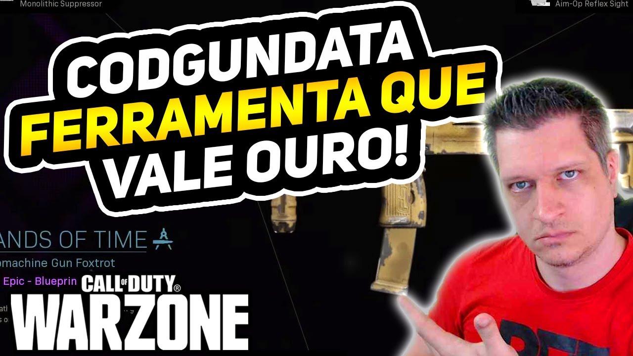 CODGUNDATA - UMA FERRAMENTA INDISPENSÁVEL | COD WARZONE DICAS